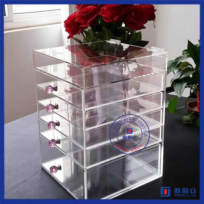 Hot Sell Low Price Clear Acrylic Makeup Organizer