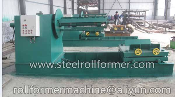 hydraulic uncoiler with 5ton