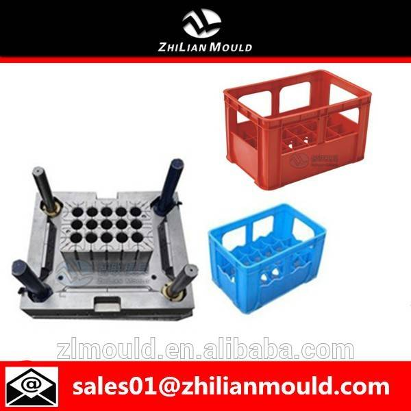 high quality plastic beer mold cola crate mould maker in taizhou
