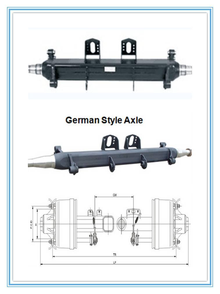 13ton American Axle Beam