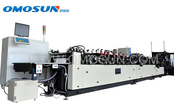 High speed multt function composite material bag making machine