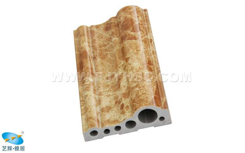 PVC UV marble door & window frame board/ border moulding finished skirting