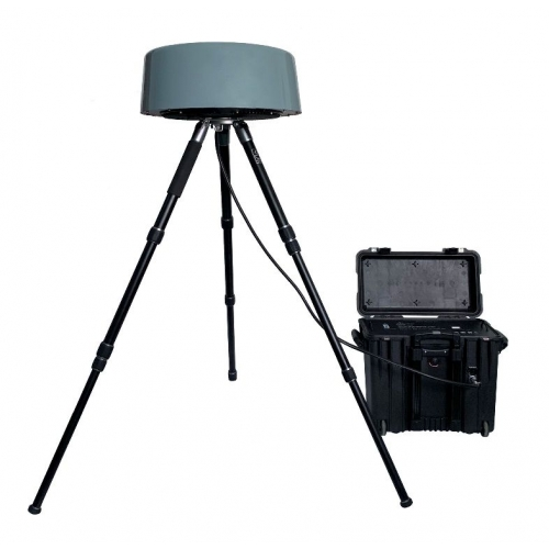 OUTDOOR EASY SETUP ANTI-DRONE UAV JAMMER 200W UP TO 3000M
