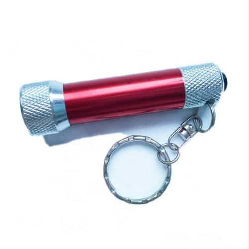 Factory Supply Mini Aluminum 5led Flashlight Keychain For Promotion