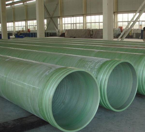 Fiberglass pipe/Filament Winding FRP/GRP Tube