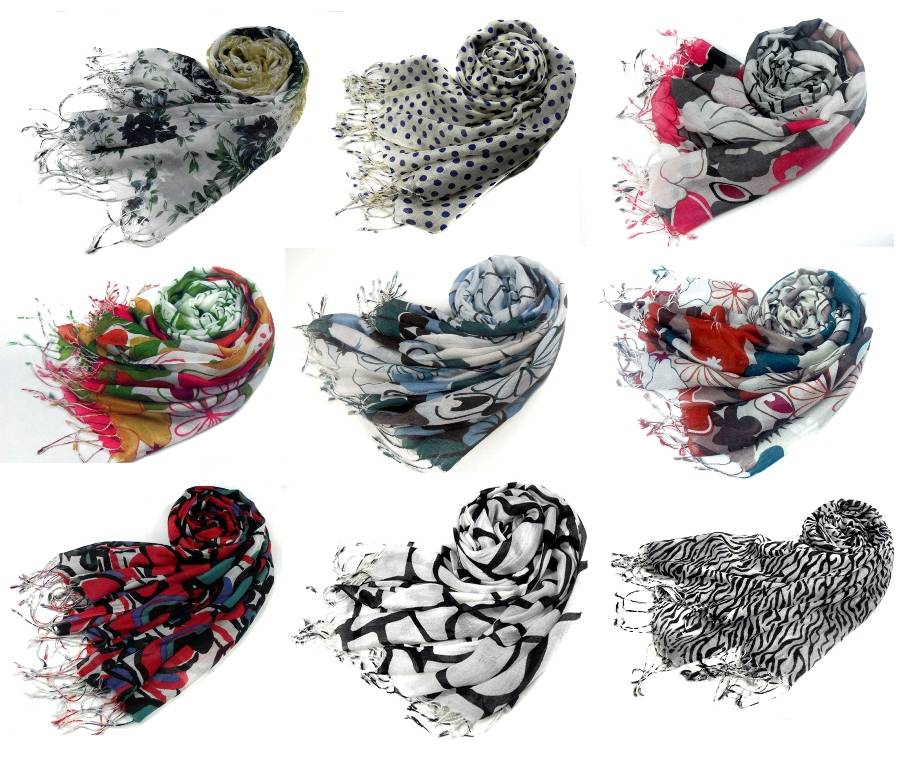 High Touching Quality Softer & Thinner 68S/1 scarf shawl