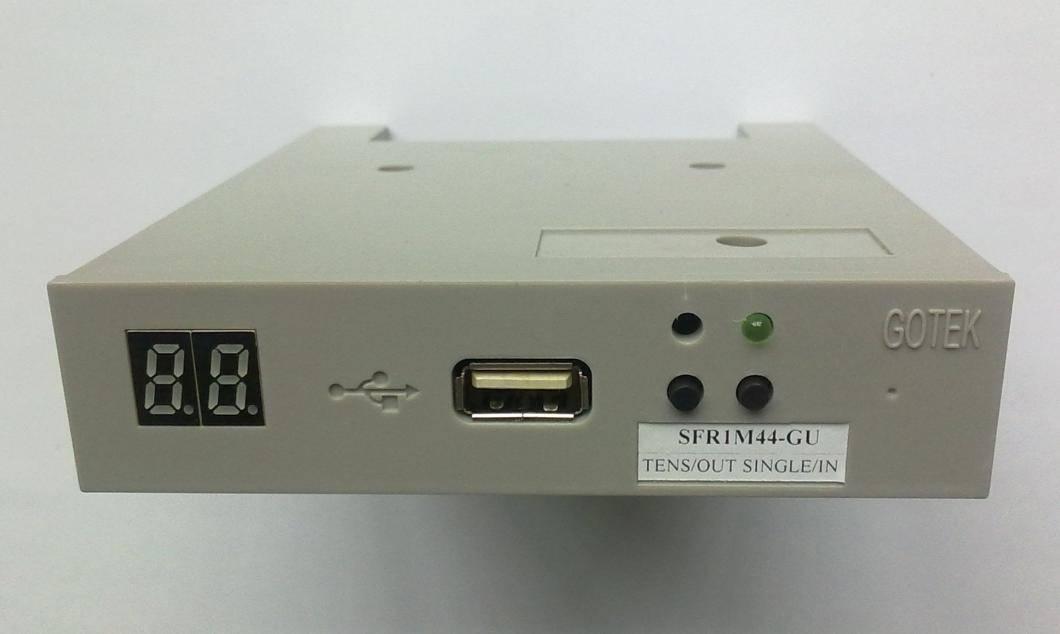 Simulate floppy to usb conversion for TAJIMA HAPPY BARUDAN SWF etc embroidery machine