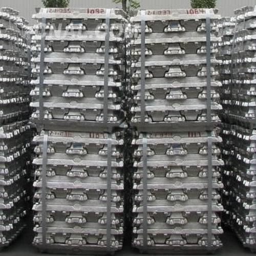 Aluminum Ingots, Zinc Ingots, Lead Ingots, Copper Ingots, Steel Ingots