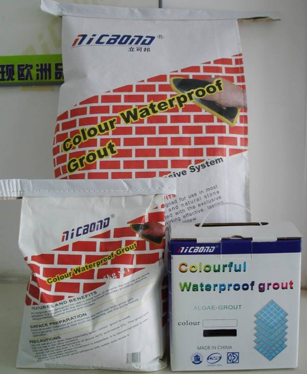 NIC-C Colour Waterproof Grout