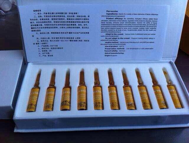 Acne Treatment Pox Vaccine Acne Remover Injection