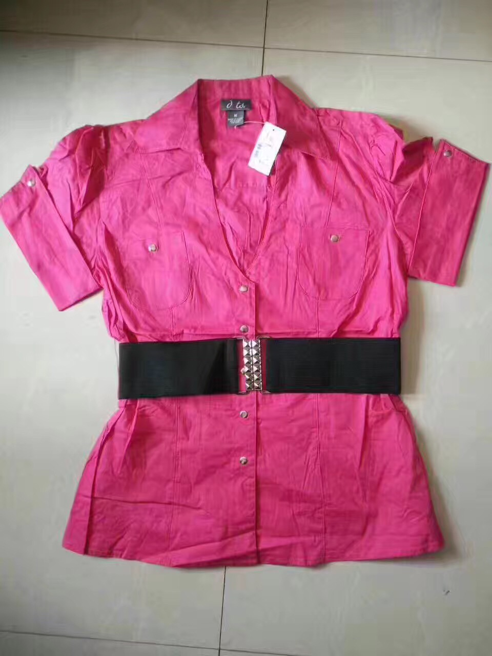 sell ladies woven fashion top
