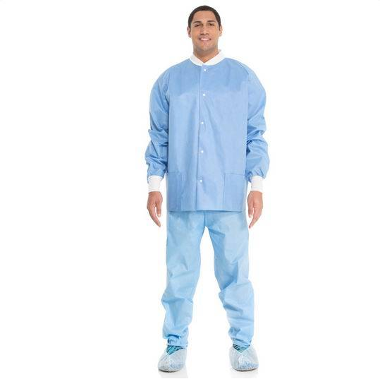 Disposable Non Woven Lab coat(Short Type)