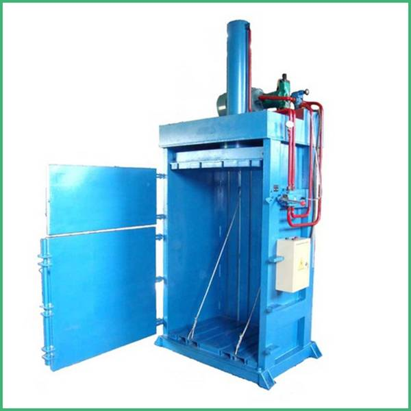 multifunctional scrap metal pet bottle waste clothes baler