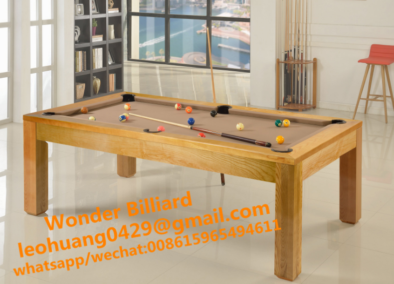 Multifunctional pool table and dinner table