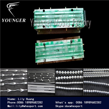plastic ball chain mould for roller blinds curtains