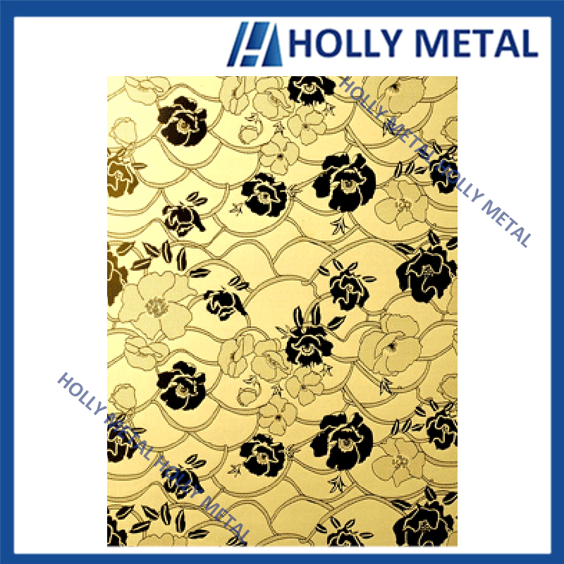 Stainless Steel Decorative Sheet Color Sheet for Indoor Decoration