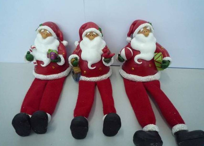 Christmas resin crafts