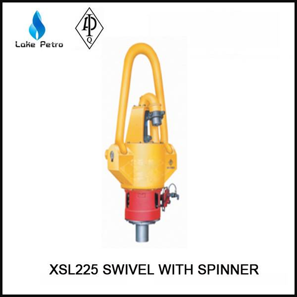 Hot sale API SL225 swivel with spinner oilfield