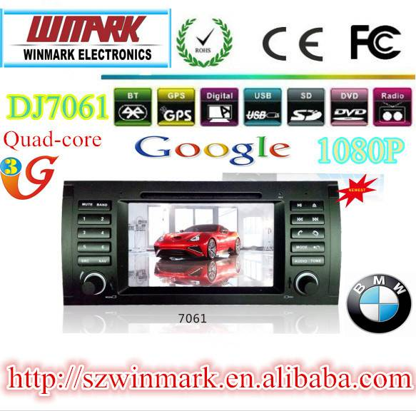 double dins 7inch Win CE 6.0 car radio for BMW E39 E53 M5 DJ7061