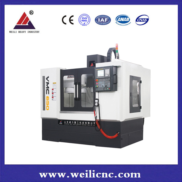 VMC machine with 5 axis