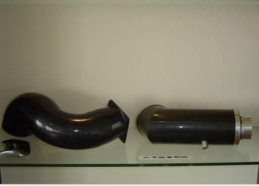 bearing 200 degree carbon fiber tube muffler