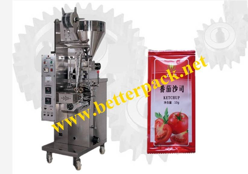Small sachet tomato paste ketchup packing machinery