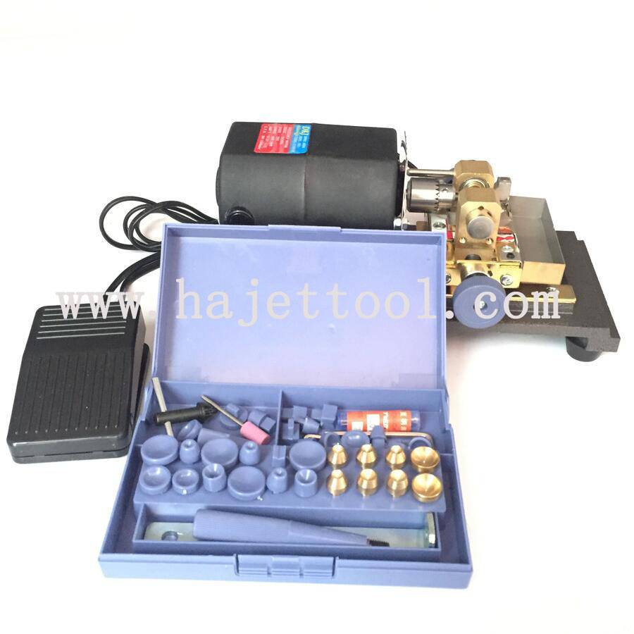 300W Pearl Drilling Machine Jewelry Drill Tool Pearl Fixing Machine