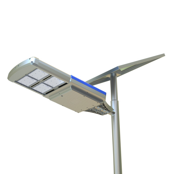48W solar integrated led street light solar garden light all in one solar lighting products