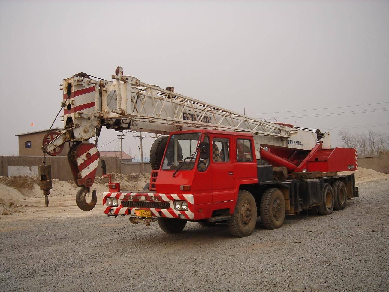 Used Tadano 30Tons Truck Crane