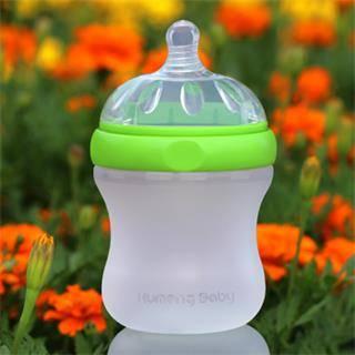 Kumeng Baby extra wide caliber silicone baby feeding bottle