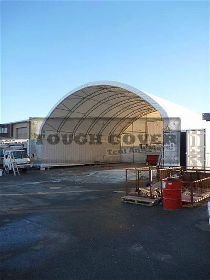 12m and 14m Wide Truss Style Container Tops TC4040C, TC4640C