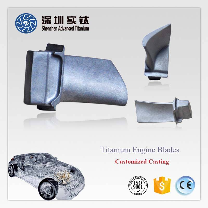 Hot sale titanium motor blades for car automobile supplier in China