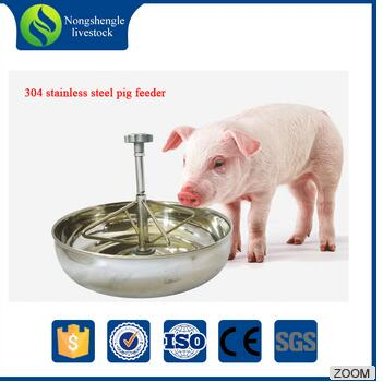 27 cm piglets feeding equipment stainless steel trough/feeder for pigs