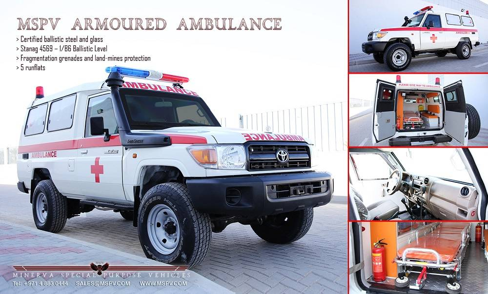 Armoured & Bullet Proof Ambulance