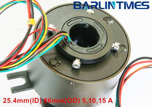 Through Hole Slip Ring with 25.4mm ID ( 12.7mm-190mm ID )