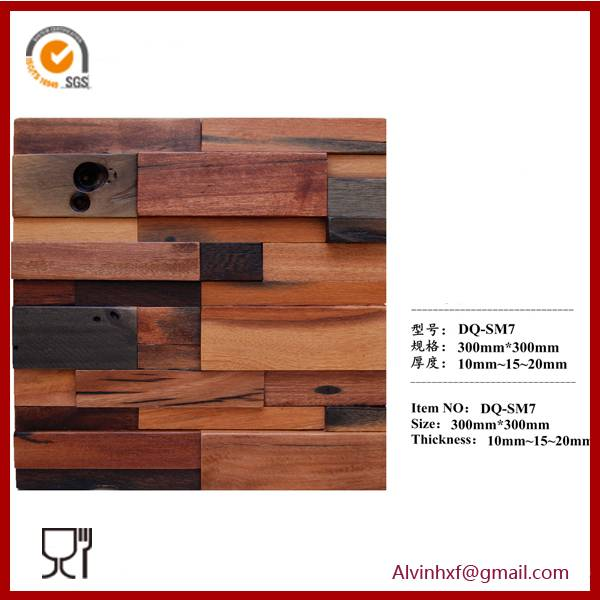 Hot Sale Wooden Mosaic for Home Wall Decoration