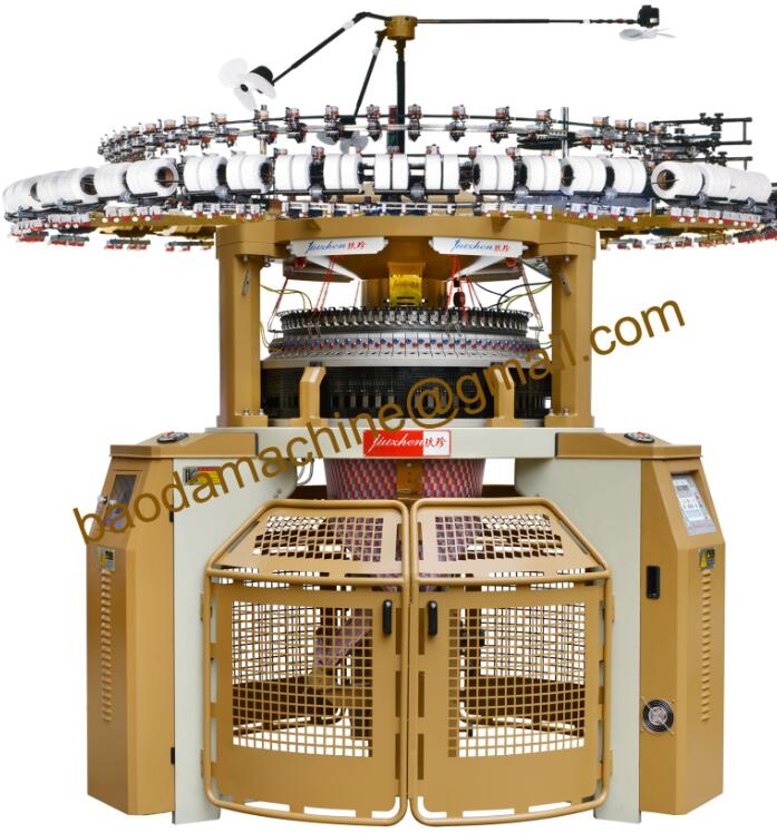Double Jersey Electronic Computerized Jacquard Circular Knitting Machine