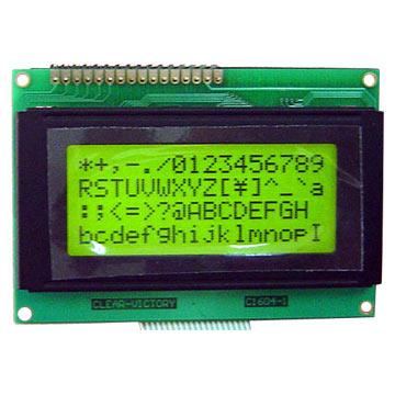 16 x 4 Character LCD Module