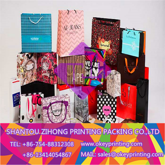 printing color paper bag