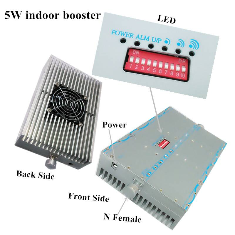 2015 new 5W 1800 4g signal booster cell phone signal booster of high quality for remote place bad si