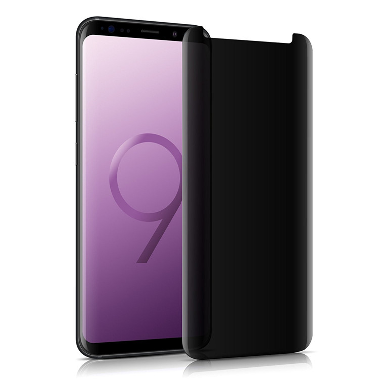 Anti-spy privacy protection screen protector for Samsung S9