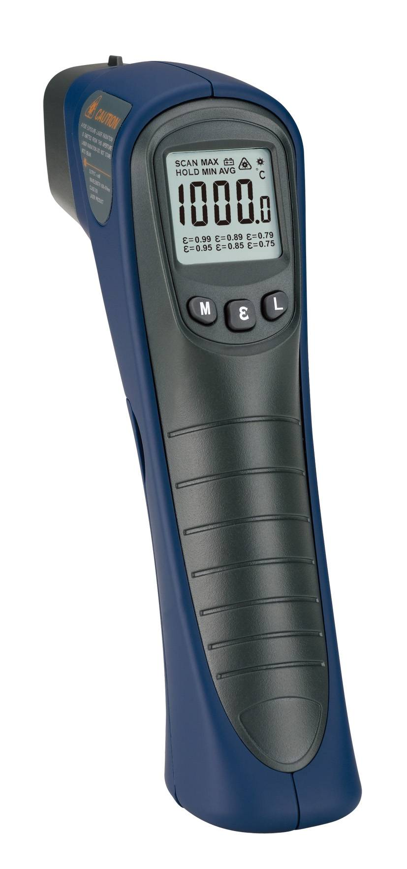 Digital non-contact infrared thermometer ST1000/high temperature/big distance D:S=30:1