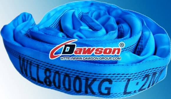 WLL 8Ton Polyester Endless Round Slings