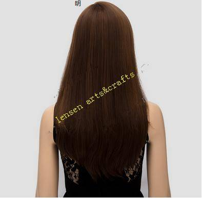 long streigth style wig , high temperature resistance wig