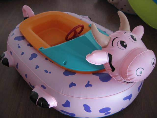 The animals electric bumper boat for slae