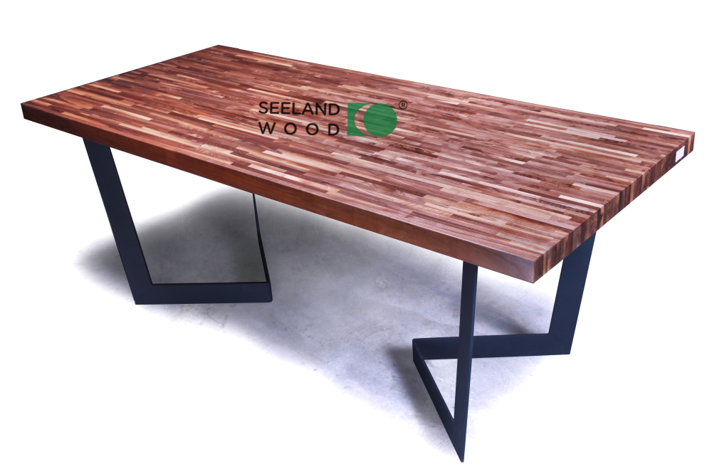 American black walnut egde grain table top