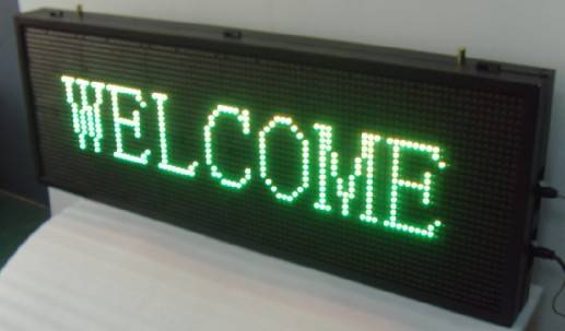 PH16-32*96 LED moving message sign