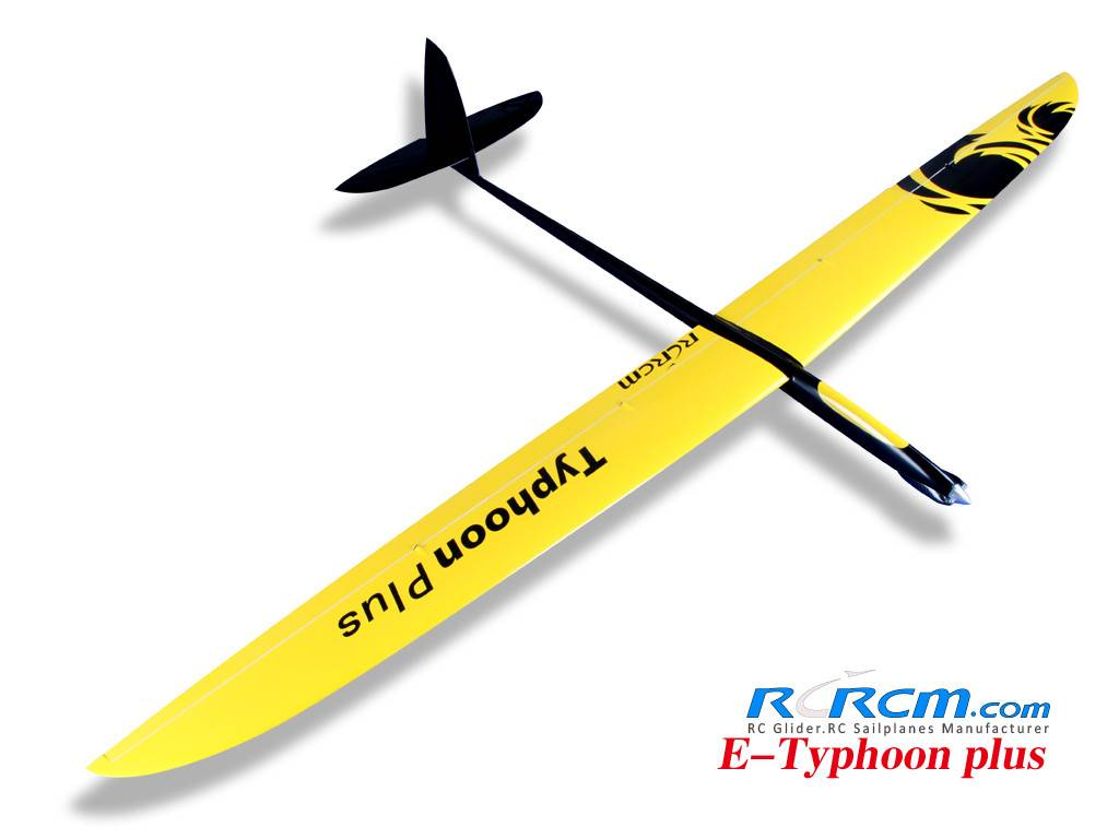 3m Typhoon-full composite rc glider of RCRCM