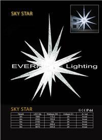 Motif light Sky star