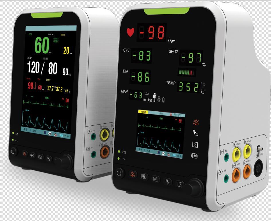 7inch patient monitor with NIBP ECG SPO2